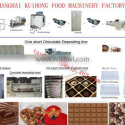 central filled chocolate production line