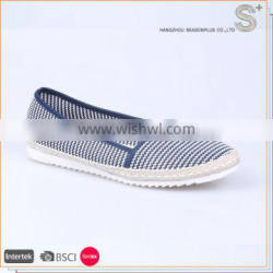 Brand new design leisure new style colorful canvas espadrilles for ladies