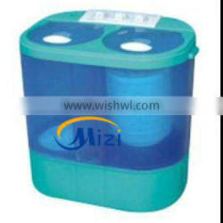 Mini twin tub washing machine with dryer 3.5KG with CE ROSH