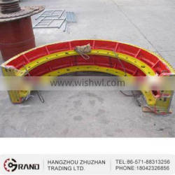 Carbon steel forged mechanical rotating gear ring