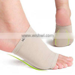 Elastic Bandage Arch Support Massage Insoles Gel Pads