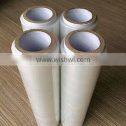 600% elongation rate Manual Lldpe Stretch Film in clear or brown color