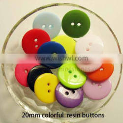 Candy colorful resin epoxy buttons