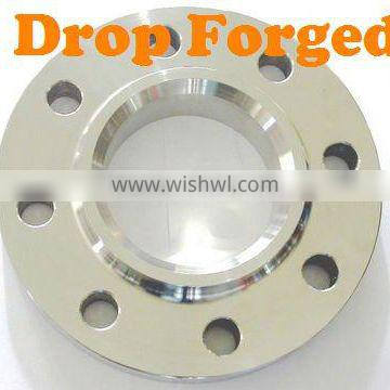 carbon steel flange for high pressure pipeline DIN standard and drop forged
