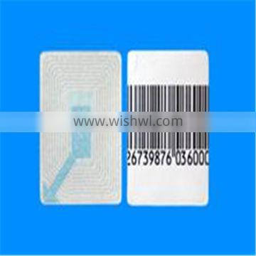 EAS soft tag Barcode/White/Customized eas label