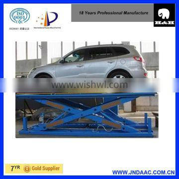 customzied hydraulic lifting platform for fitness machines
