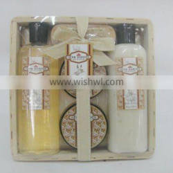 Scented Shower Gel and Body Lotion Bath Set