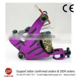 CE approval Rechargeable tattoo machine assembly casting tattoo machine