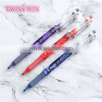 OEM Logo custom promotional stationery supplies personalised artificial plastic ink gel pens for office use