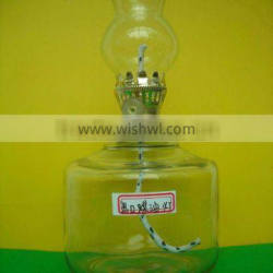 exported glass kerosene lamp
