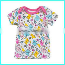 Factory direct overrun fabric random color baby clothing wholesale china
