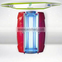Solarium manufacturer offer sunless tanning machine with CE certification
