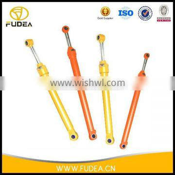 Practical and durable excavator double ended hydraulic cylinder