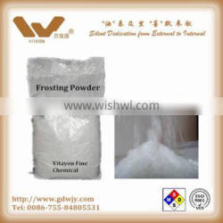 Frosting powder for glass decoration for make-up glass bottle, perfume bottle, wine bottle, glass light, glass lamp