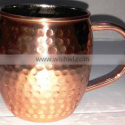 MOSCOW MULE SOLID COPPER MUG