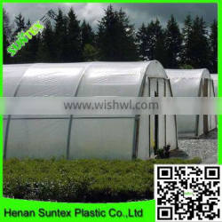 china suppliers produce100% virgin HDPE anti-drip greenhouse film with UV protection