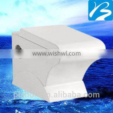 2016 Bathroom design one piece P trap wall hung toilet