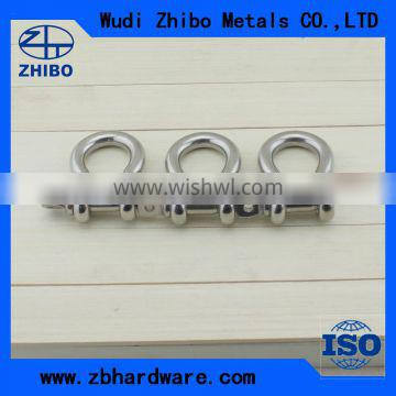 Factory supply Metal materail US type 4.75 ton bow shackle G209