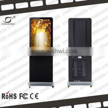 "26"" floor stand led display screen hd sdi player led usb flash drive video player card led commercial advertising display"