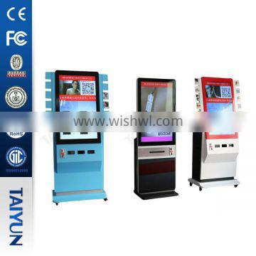 42 inch wifi photo printing advertising digital signage