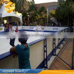 UHMWPE sheet synthetic ice rink hocky rink board