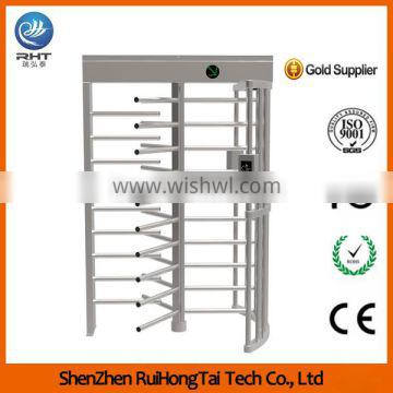 Vertical Access Control Electronic Barrier Gate Mechanism Full Height Turnstile Competitive Price