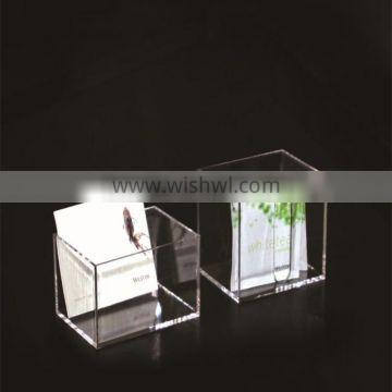 Square Acrylic Clear Storage holder for Sticky Note