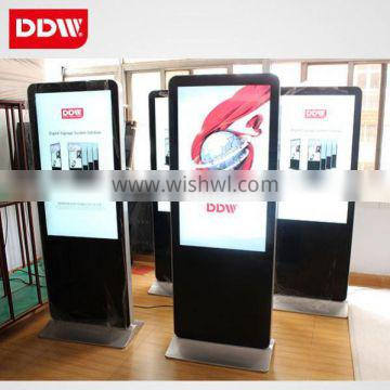 55 Inch Floor Standing Outdoor Advertising Player/Lcd Digital Signage With High Brightness 1000Cd/M2