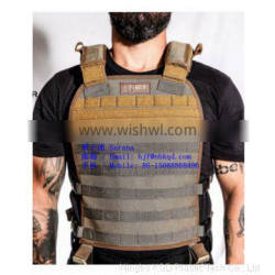 1.0mm Coyote Brown CSM Hypalon Fabric for Police Vest