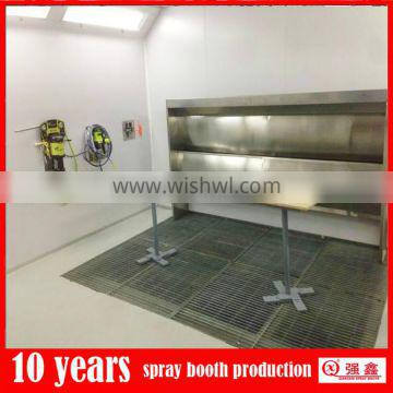 furniture dry paint booth with water curtain in New Zealand