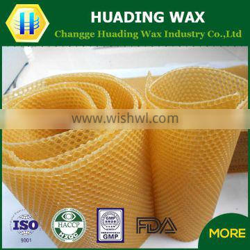 China manufacturer wholesale pure wax foundation for beekeeping