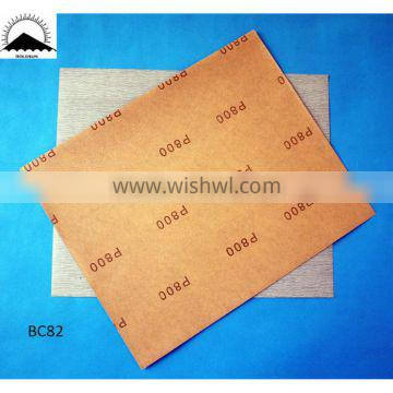 BB85 soft and stable abrasive paper