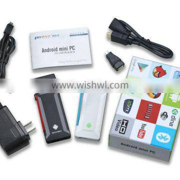Podoor T518 Android Mini PC TV Box TV dongle Quad Core CPU 1.65Ghz 2GB RAM 8GB ROM Miracast DLNA Display airplay