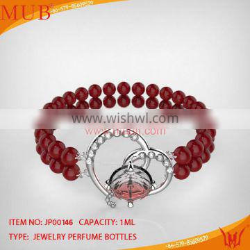 Fashion Design Bracelet Glass Jewelry Perfume Bottle