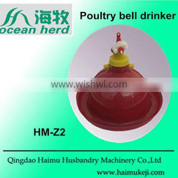 Poultry bell drinker automatic