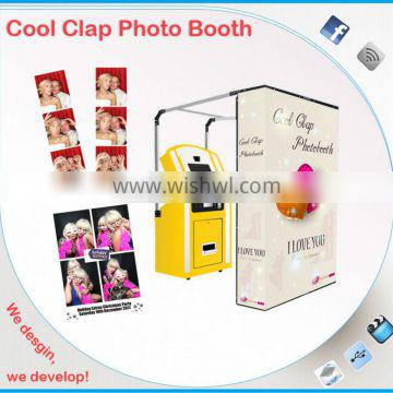 Cheap and Good Wedding photo booth