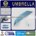 super light custom color 3 folding umbrella