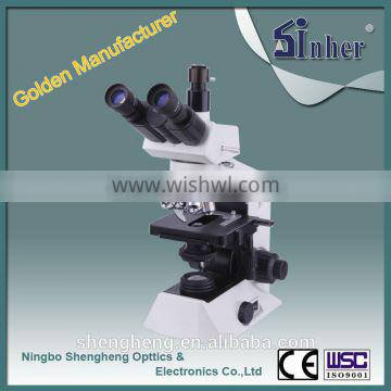 SINHER XY SERIES OPTICAL SYSTEM BIOLOGICAL EPI FLUORESCENCE MICROSCOPE