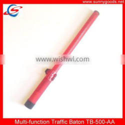 54cm multi-function red color rechargeable battery led traffic baton