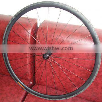 2016 Super light and high quality carbon tubular road wheel SL-3T