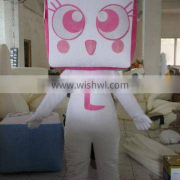 sm201 make adult box mascot costumes