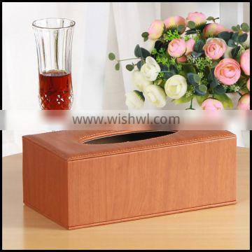 Leather tissue bo home creative paper bo antique European style imitation leather carton manufacturers direct sales