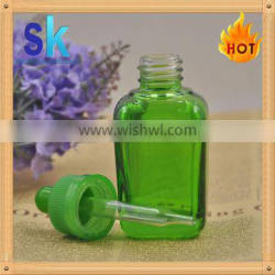 30ml essential oil glass dropper bottle with aluminum cap glass pipette Supplier's Choice