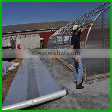 transparent agricultural poly film poly tunnel cover