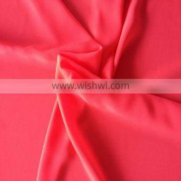Fashion design in 75D 100%Poly Crepe Fabric CDC Silk Imitation Fabric
