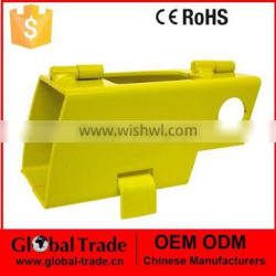 Hitch Lock Foldable with Padlock. A1077