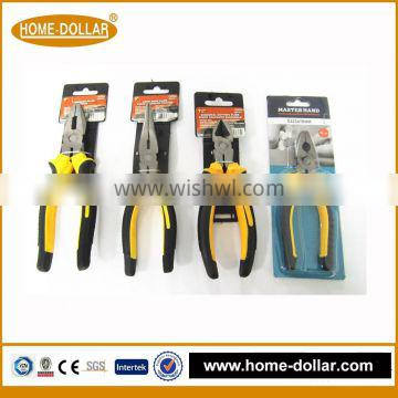 High quality cheap red round nose snap ring handle grips for pliers