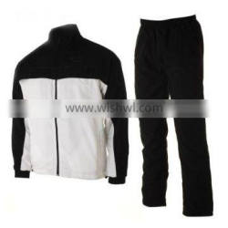 Dark Black and White Color Track Suits