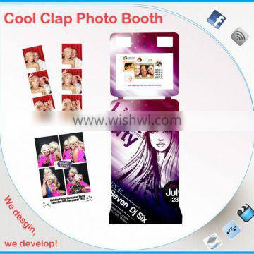 Advertising Photo Machine With Sticker Booth