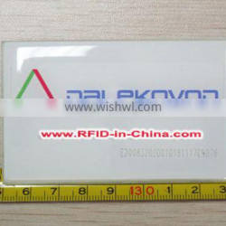 Offset/Digital/Silkscreen Printing RFID Tags/Adhesive RFID Windshield Tags for Parking Lot Management